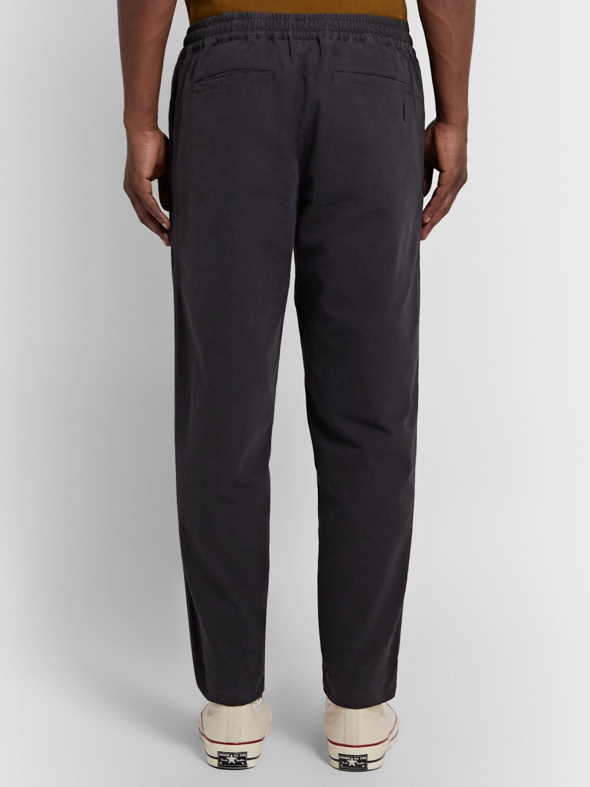 Folk Alber Cotton-Canvas Trousers