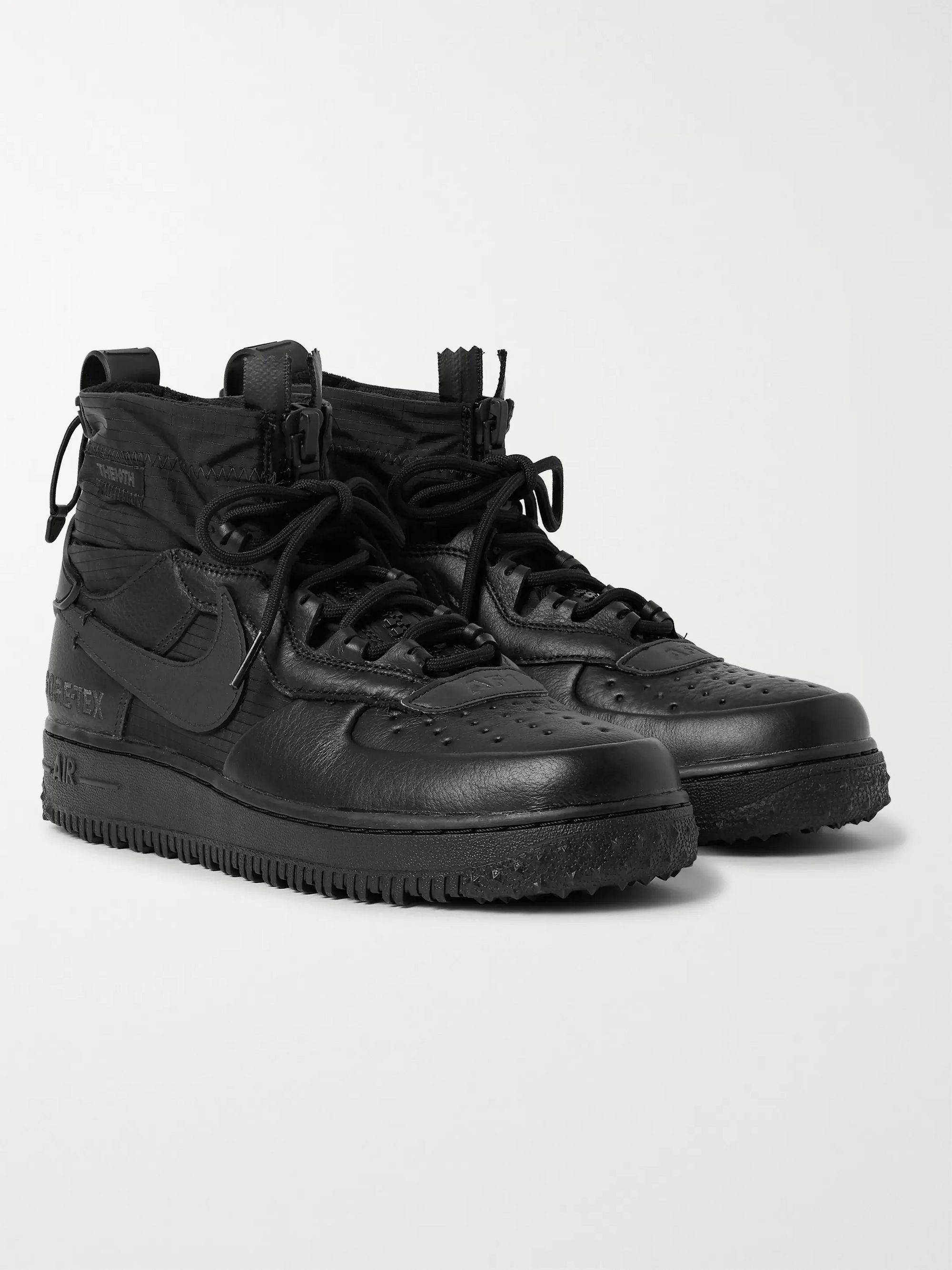 Air Force 1 Winter GORE TEX and Leather High Top Sneakers