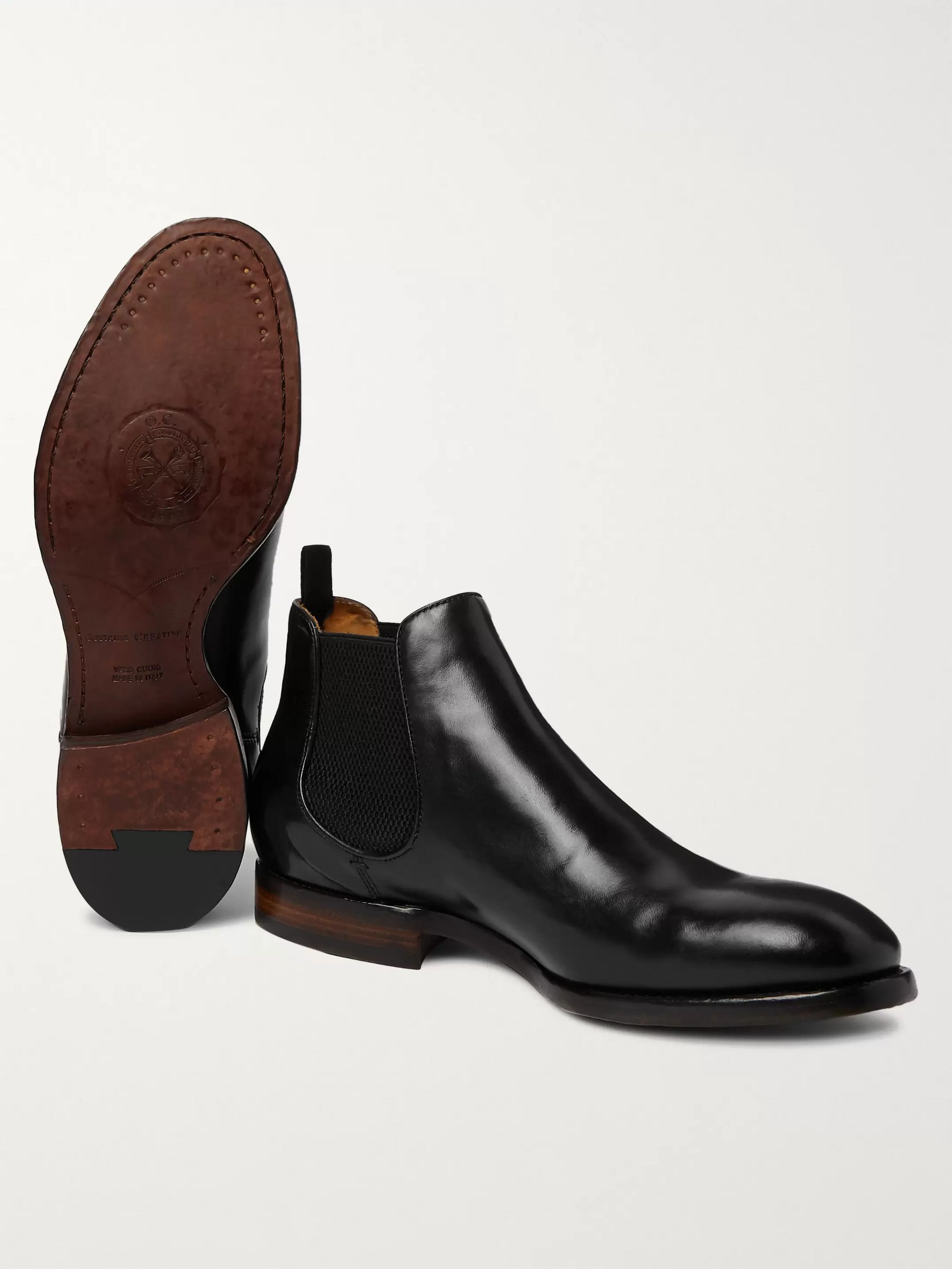 Emory Leather Chelsea Boots