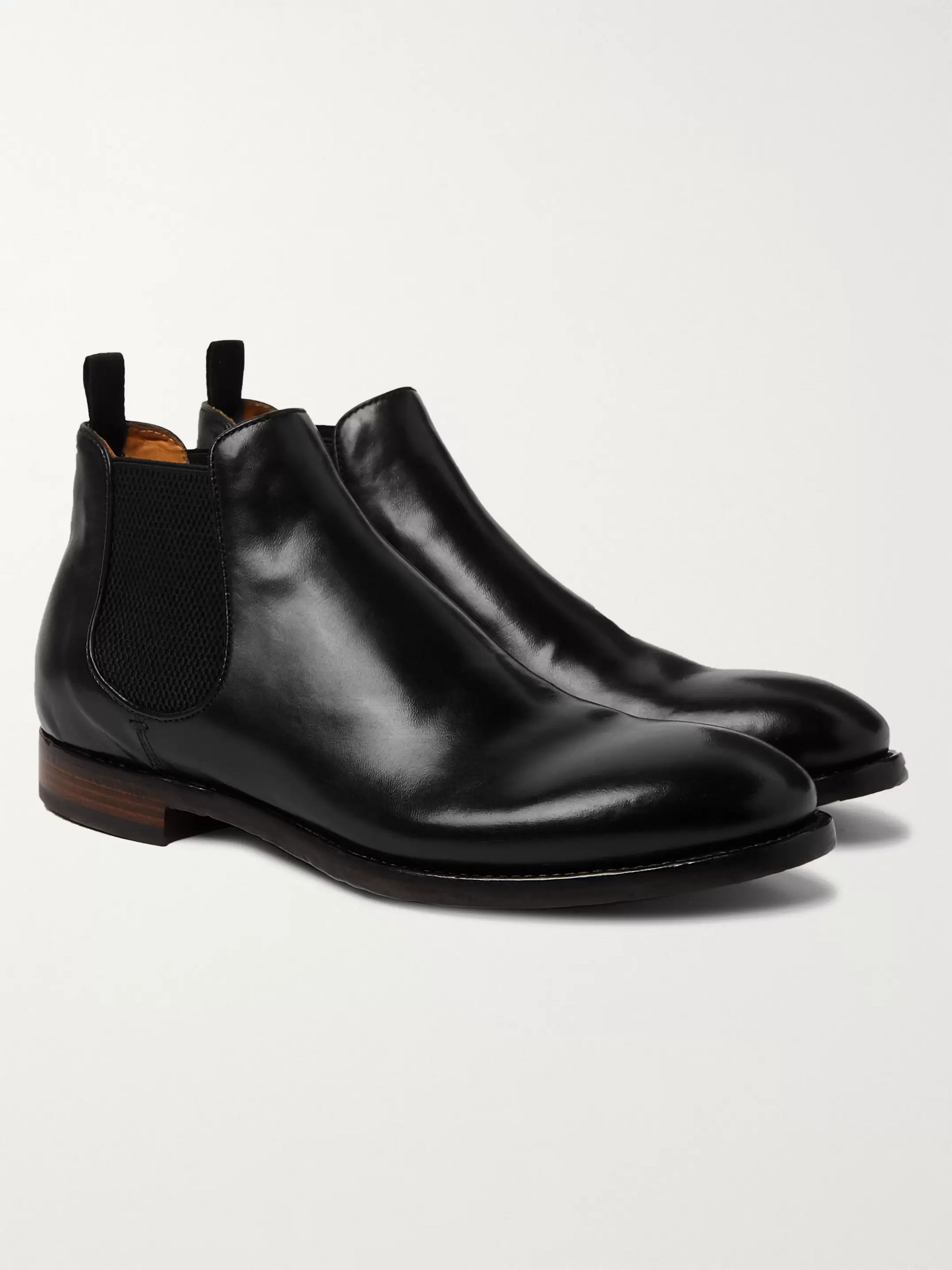 Officine Creative Emory Leather Chelsea Boots