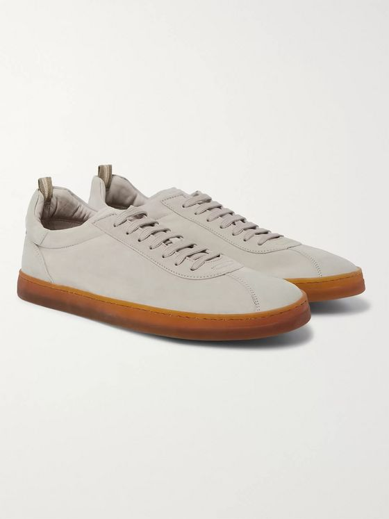 Officine Creative Karma Suede Sneakers