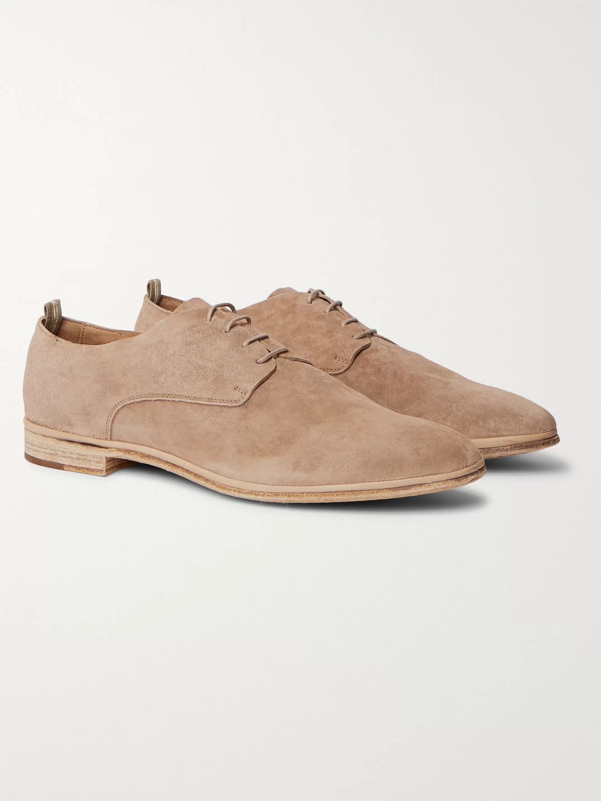 Officine Creative California Leather Oxford Shoes