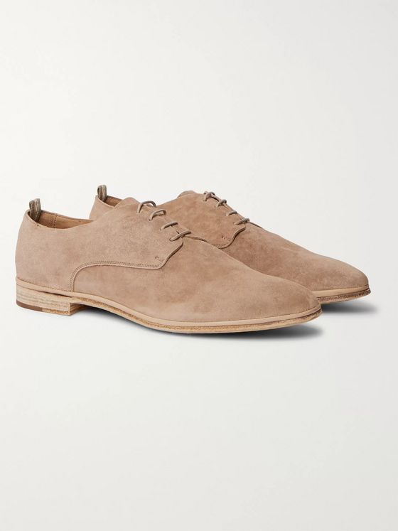 Officine Creative California Suede Oxford Shoes