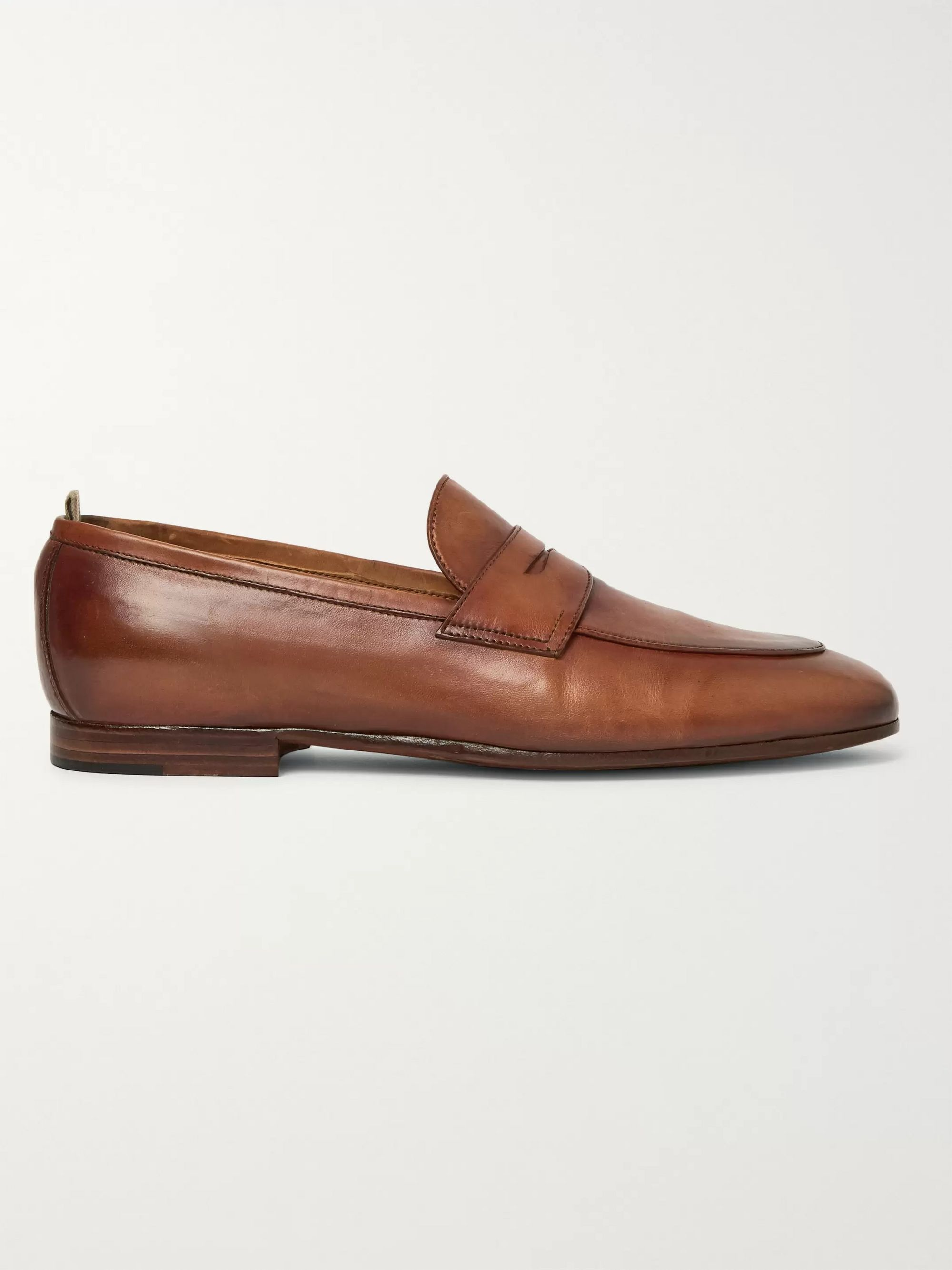 Officine Creative Byron Leather Penny Loafers