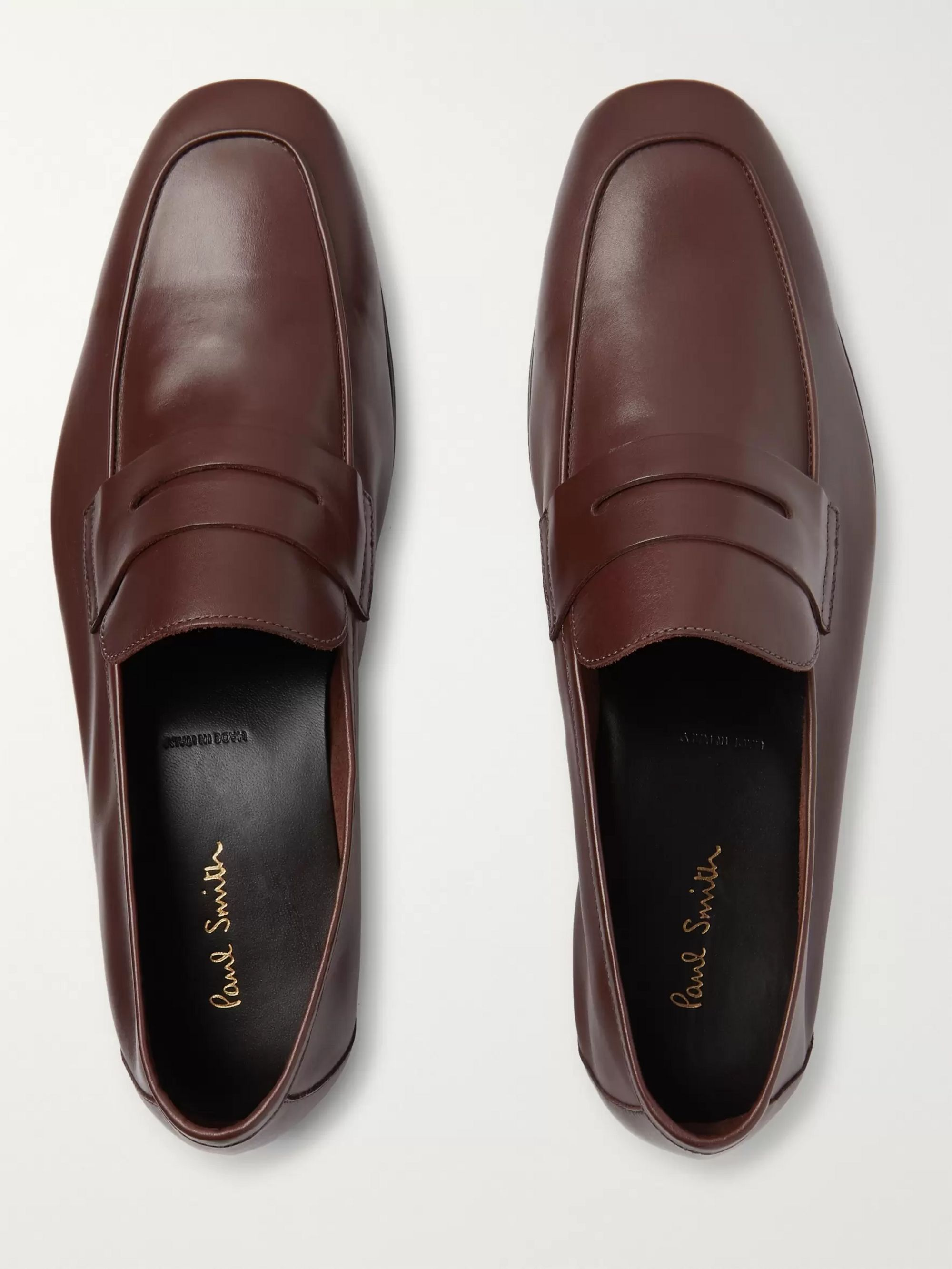 Paul Smith Glynn Leather Penny Loafers