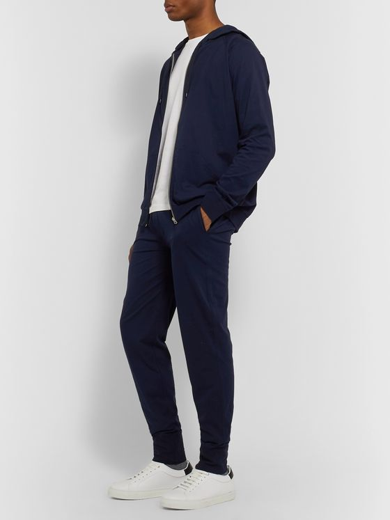 Paul Smith Shoes & Accessories Slim-Fit Tapered Cotton-Jersey Drawstring Sweatpants