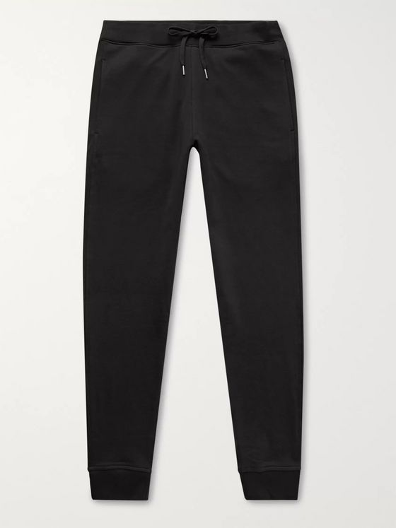 Handvaerk Loopback Pima Cotton-Jersey Sweatpants