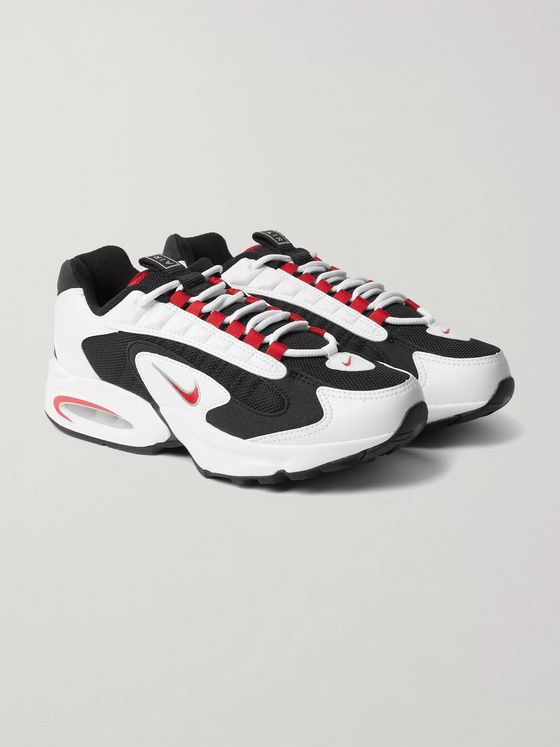 Nike Air Max Triax 96 Leather and Mesh Sneakers