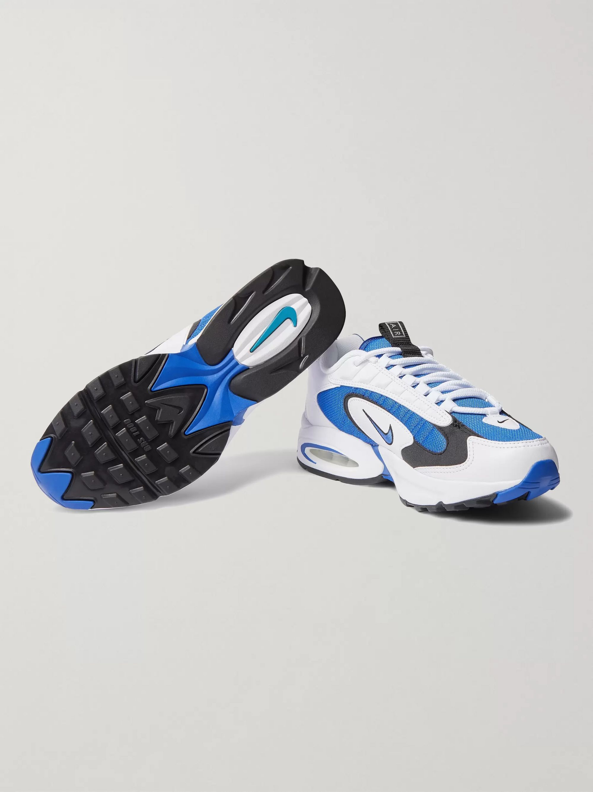 Air Max Triax 96 Mesh and Leather Sneakers