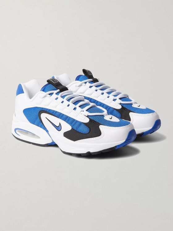 Nike Air Max Triax 96 Mesh and Leather Sneakers