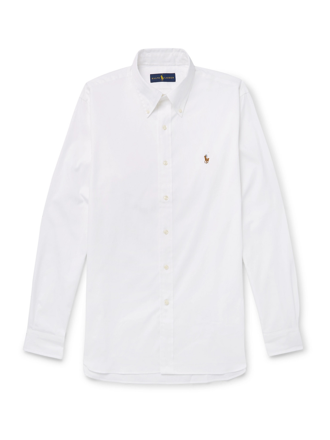 Polo Ralph Lauren - Button-Down Collar Cotton-Piqué Shirt - Men - White - Uk/Us 18
