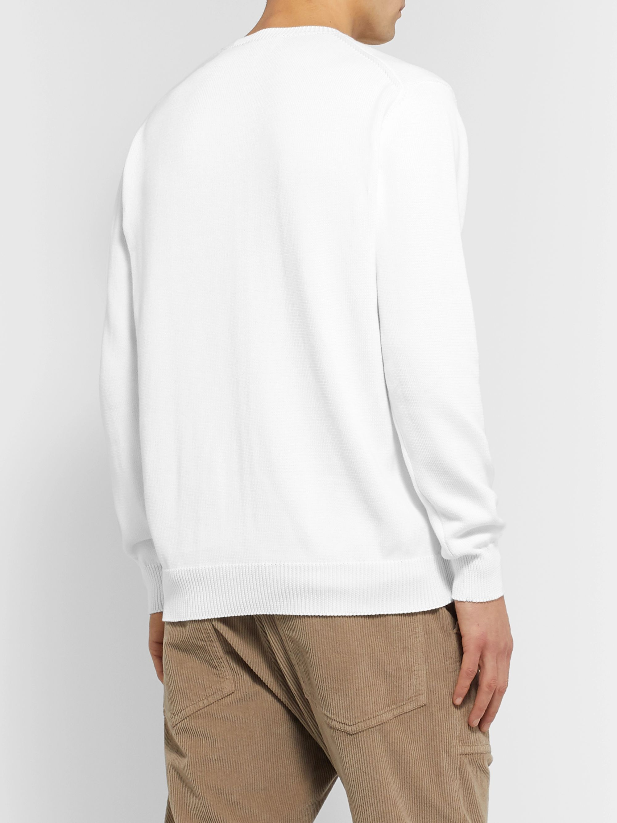 Altea Ribbed Cotton Sweater