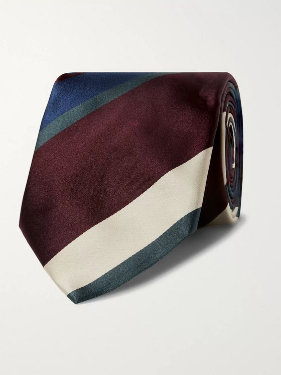 Bigi 8cm Striped Silk Tie