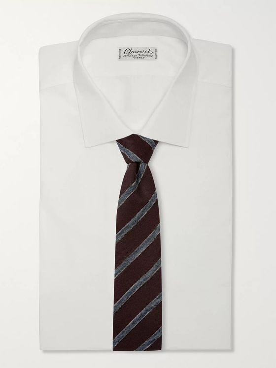 Bigi 8cm Striped Wool Tie