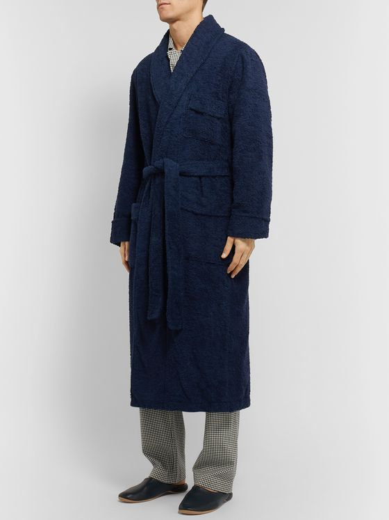 Anderson & Sheppard Cotton-Terry Robe
