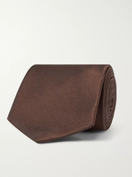 Beams F 8cm Silk-Faille Tie