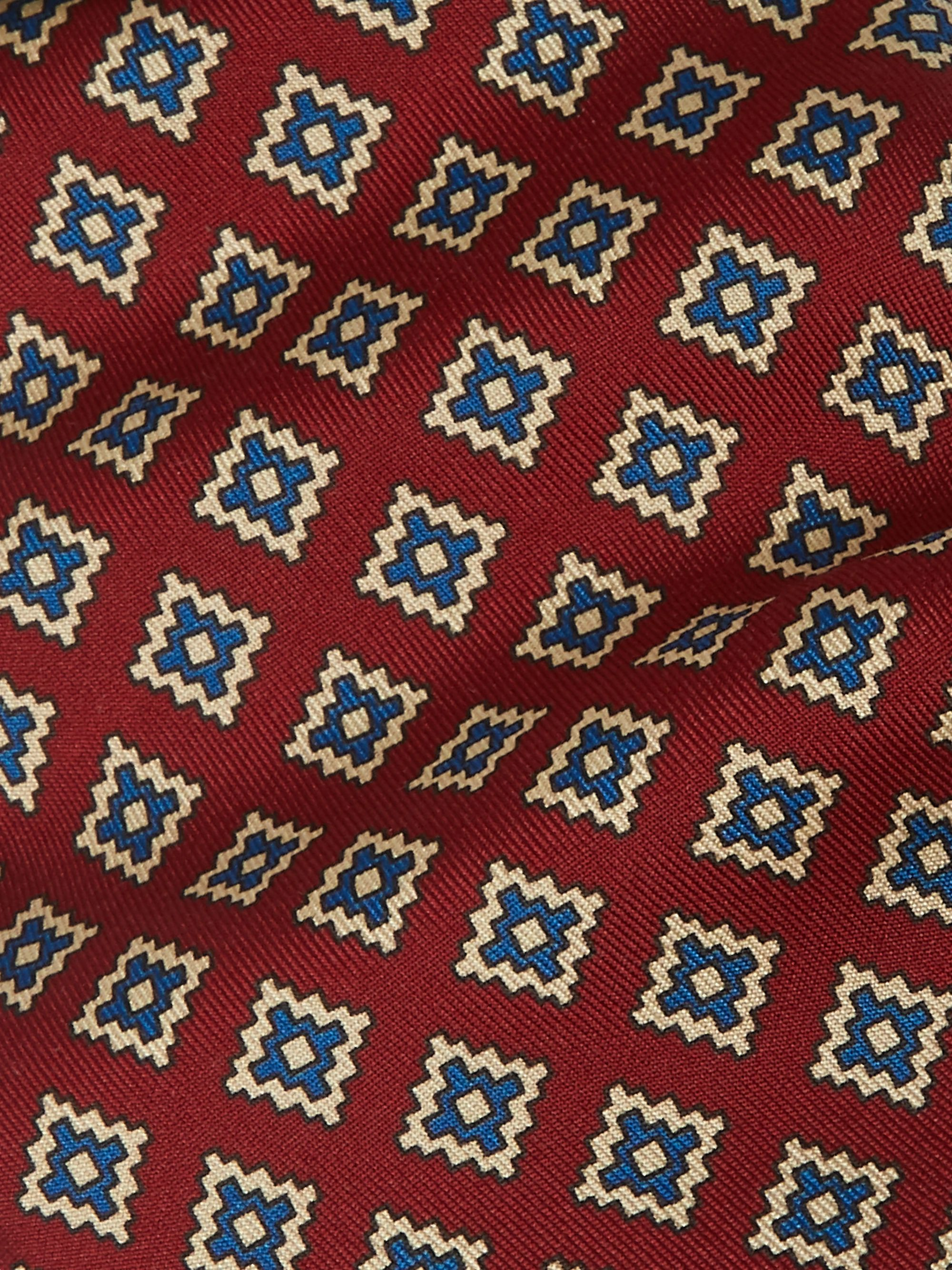 E.MARINELLA 8.5cm 1949 Archive Printed Silk-Twill Tie