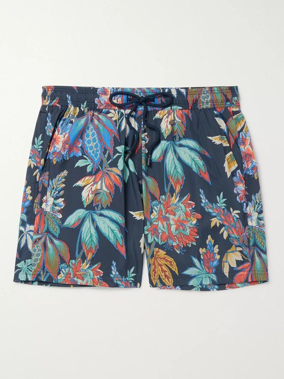 Etro Printed Swim Shorts