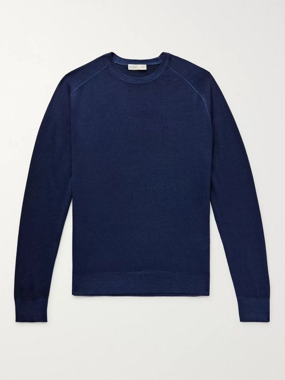 Etro Slim-Fit Wool Sweater