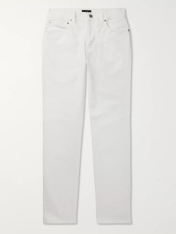 Dunhill Slim-Fit Stretch-Denim Jeans