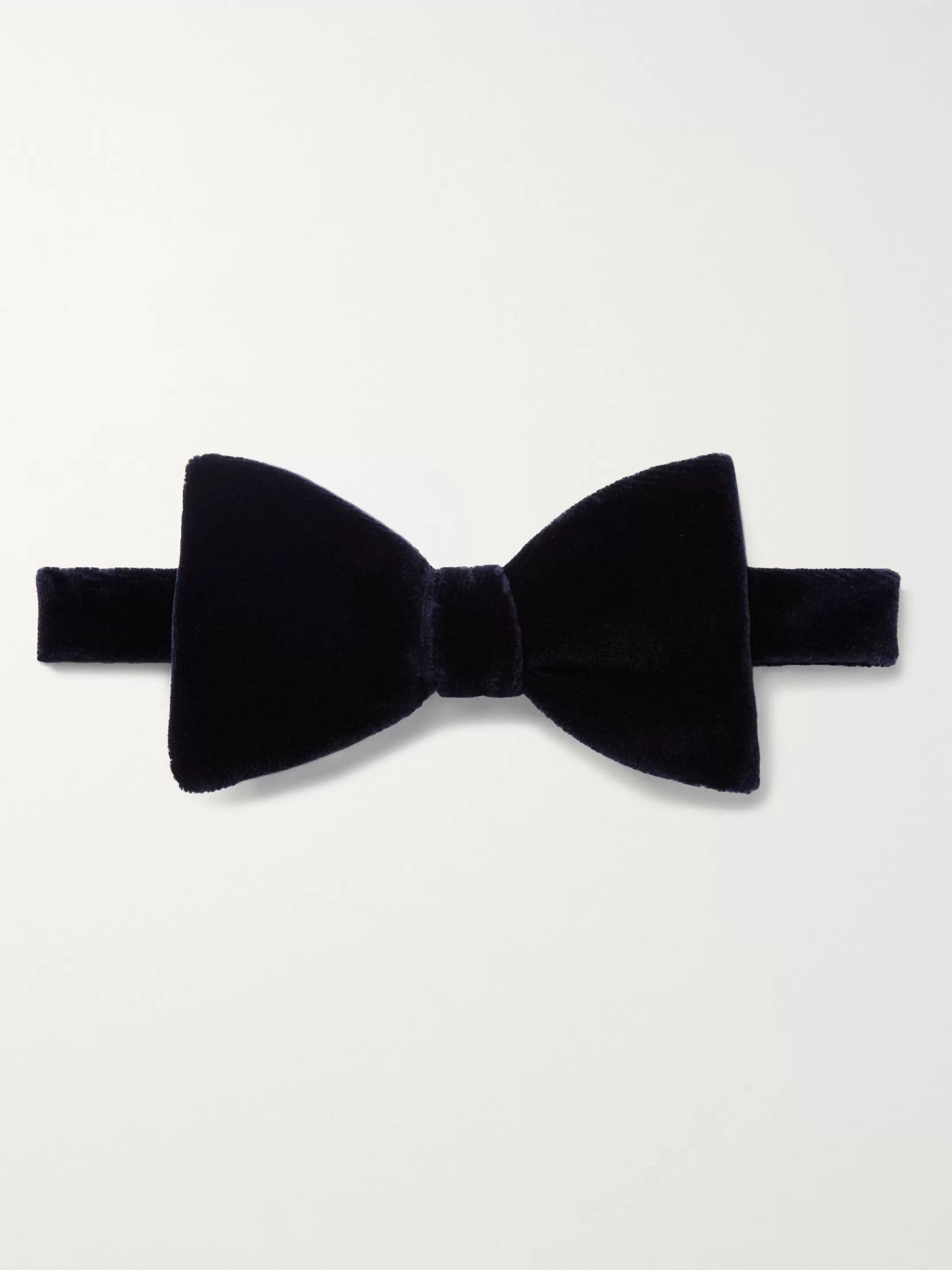 pre-tied-cotton-velvet-bow-tie by turnbull-&-asser