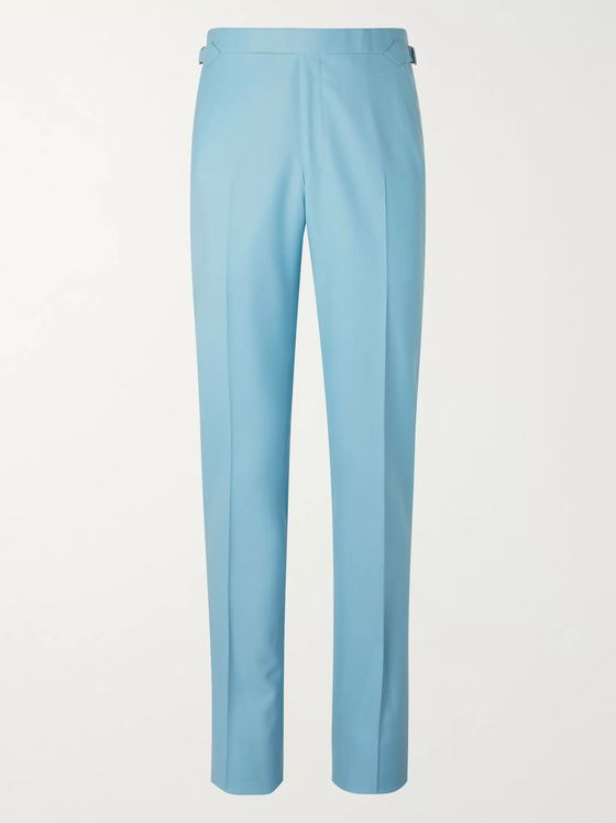 Richard James Wool-Gabardine Suit Trousers