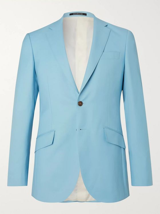 Richard James Slim-Fit Wool-Gabardine Suit Jacket