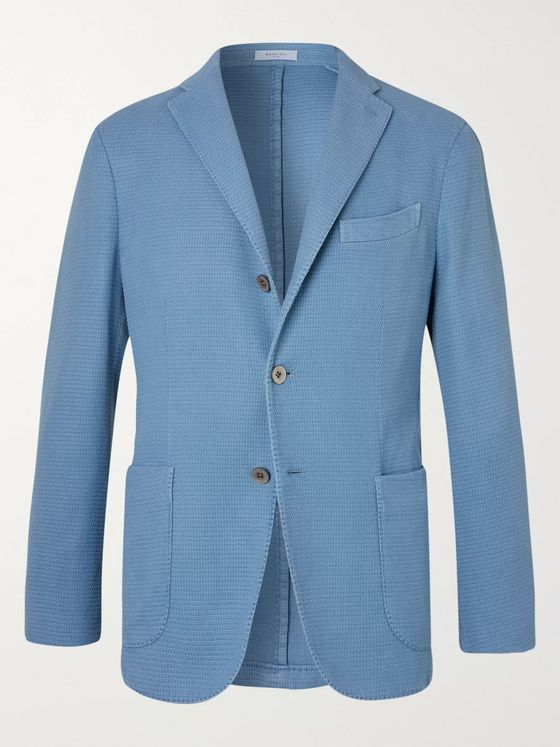 Boglioli K-Jacket Slim-Fit Unstructured Cotton-Blend Blazer
