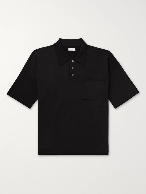 Deveaux Knitted Polo Shirt