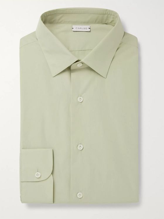 Caruso Slim-Fit Cotton Shirt