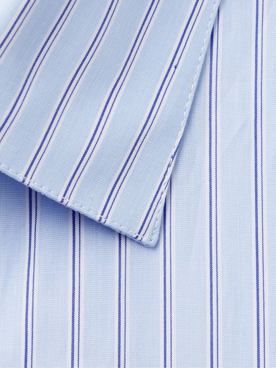 Caruso Slim-Fit Striped Cotton Shirt