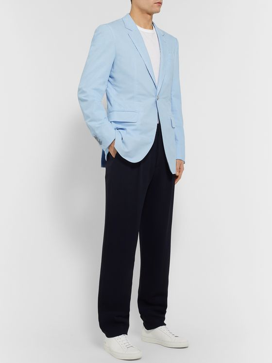 Gabriela Hearst Damien Slim-Fit Cotton-Corduroy Suit Jacket