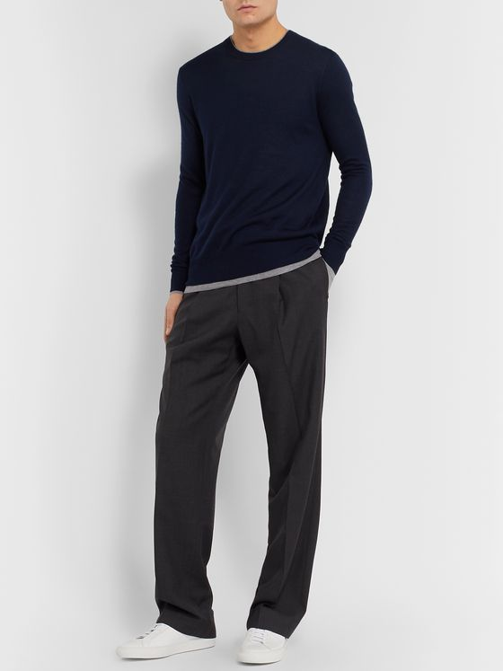 Gabriela Hearst Cashmere and Silk-Blend Sweater