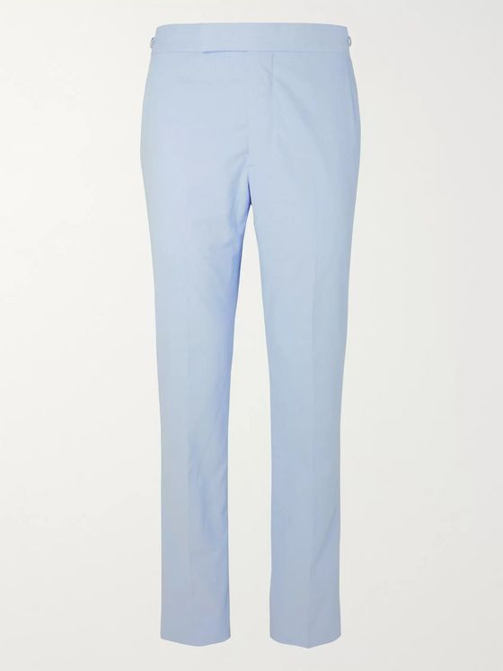 Gabriela Hearst Sebastian Slim-Fit Cotton-Corduroy Trousers