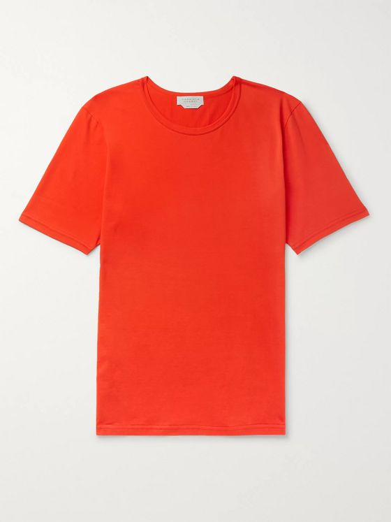 GABRIELA HEARST Banderia Cotton-Jersey T-Shirt