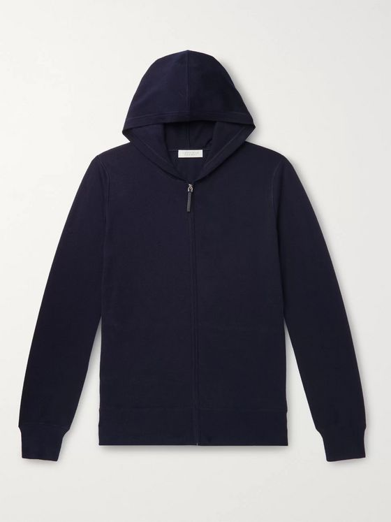 GABRIELA HEARST Jean-Paul Cashmere and Silk-Blend Zip-Up Hoodie