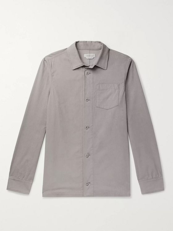 Gabriela Hearst Drew Cotton-Corduroy Overshirt
