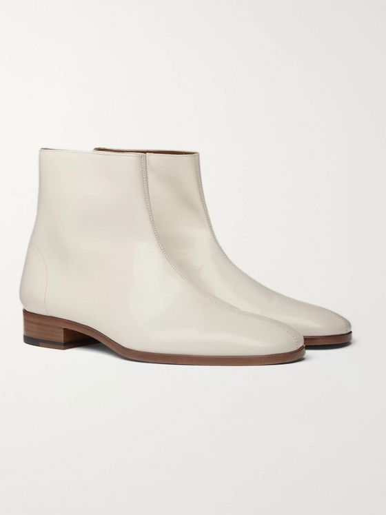 TOM FORD Midland Patent-Leather Boots