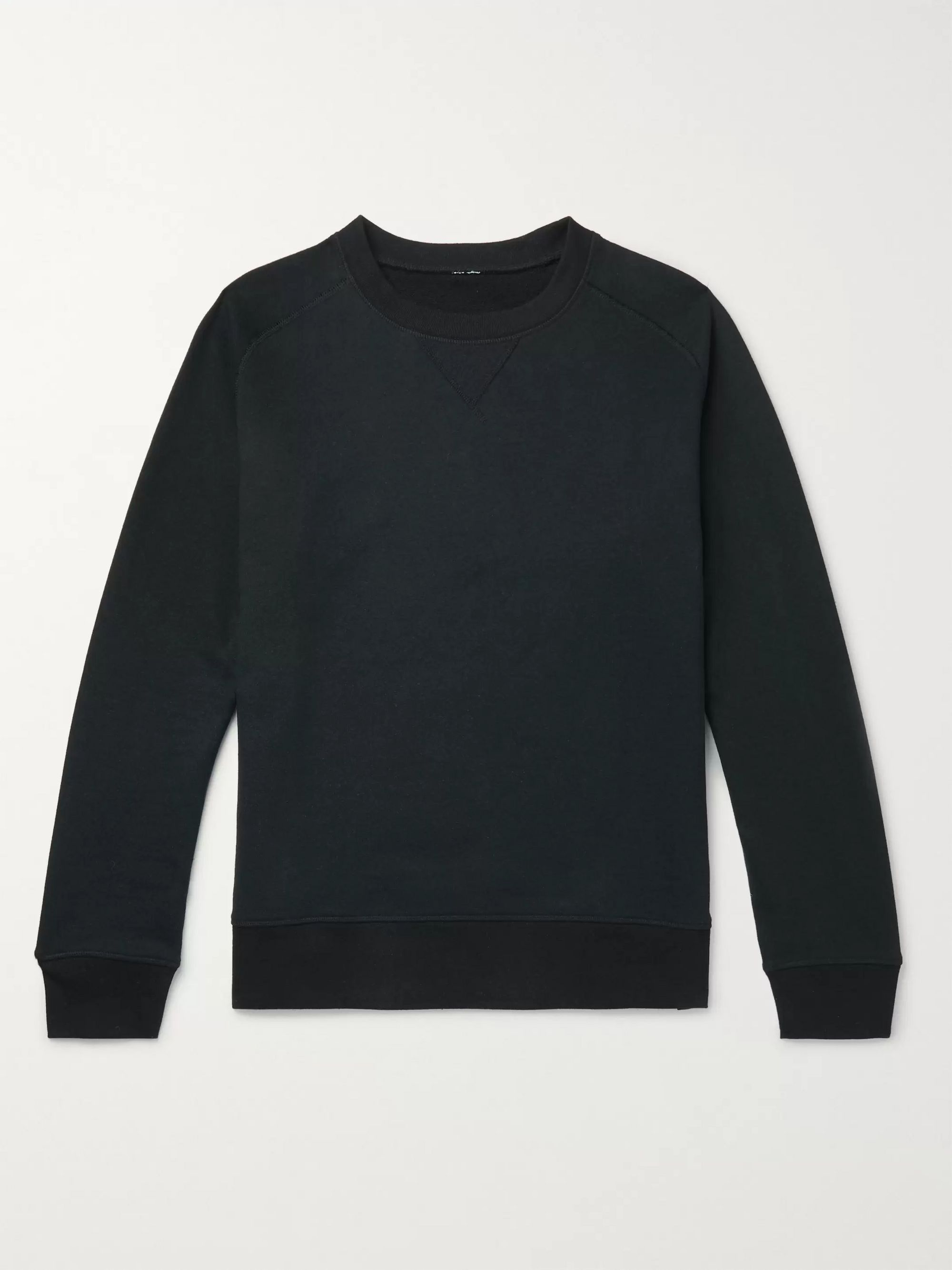 Secondskin Loopback Cotton-Jersey Sweatshirt