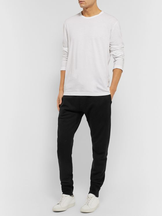 Secondskin Tapered Cotton-Jersey Sweatpants