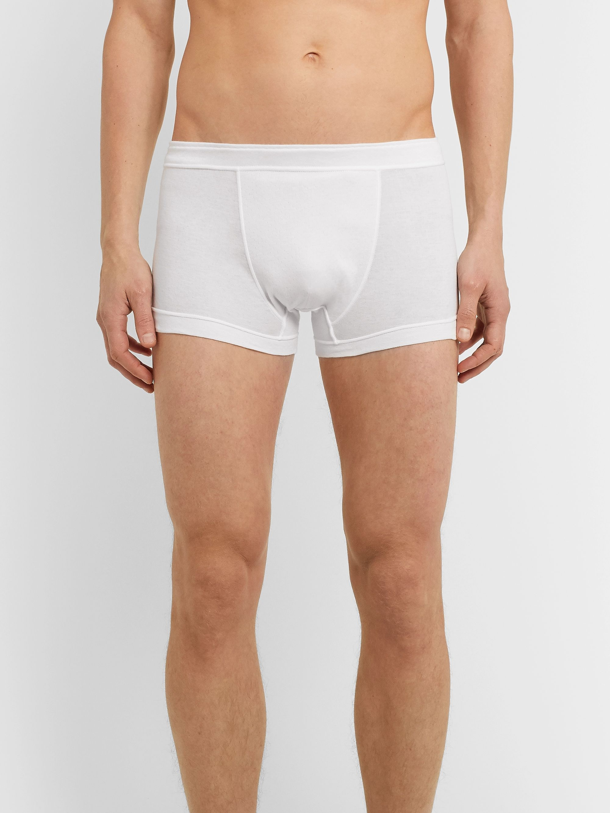 Secondskin Cotton Boxer Briefs