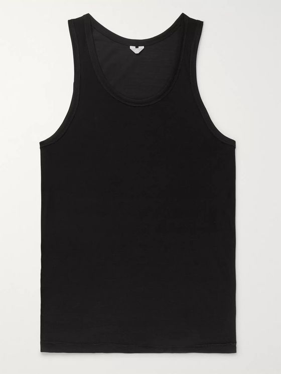 Secondskin Slim-Fit Silk Tank Top