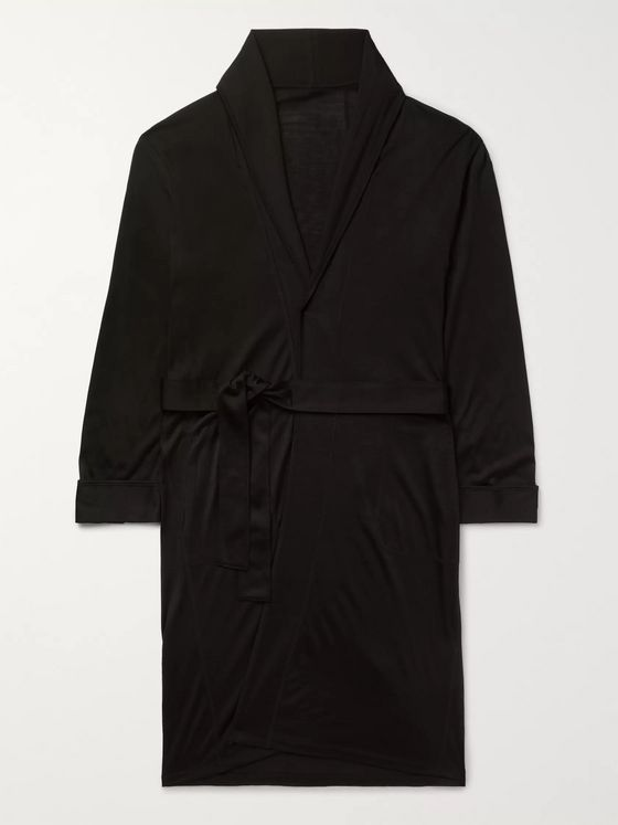 Secondskin Silk Robe