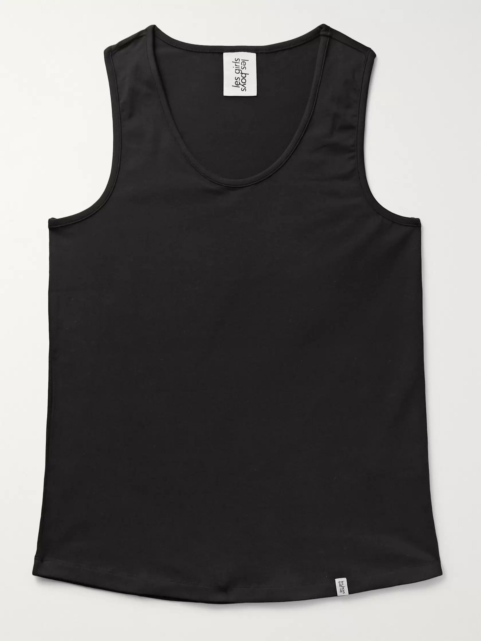 Les Girls Les Boys Slim-Fit Stretch-Cotton Jersey Tank Top