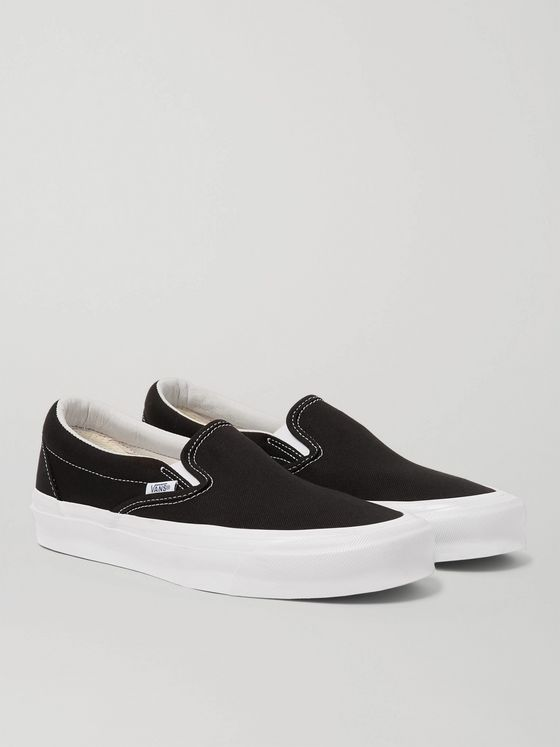 Vans UA OG Classic LX Canvas Slip-On Sneakers