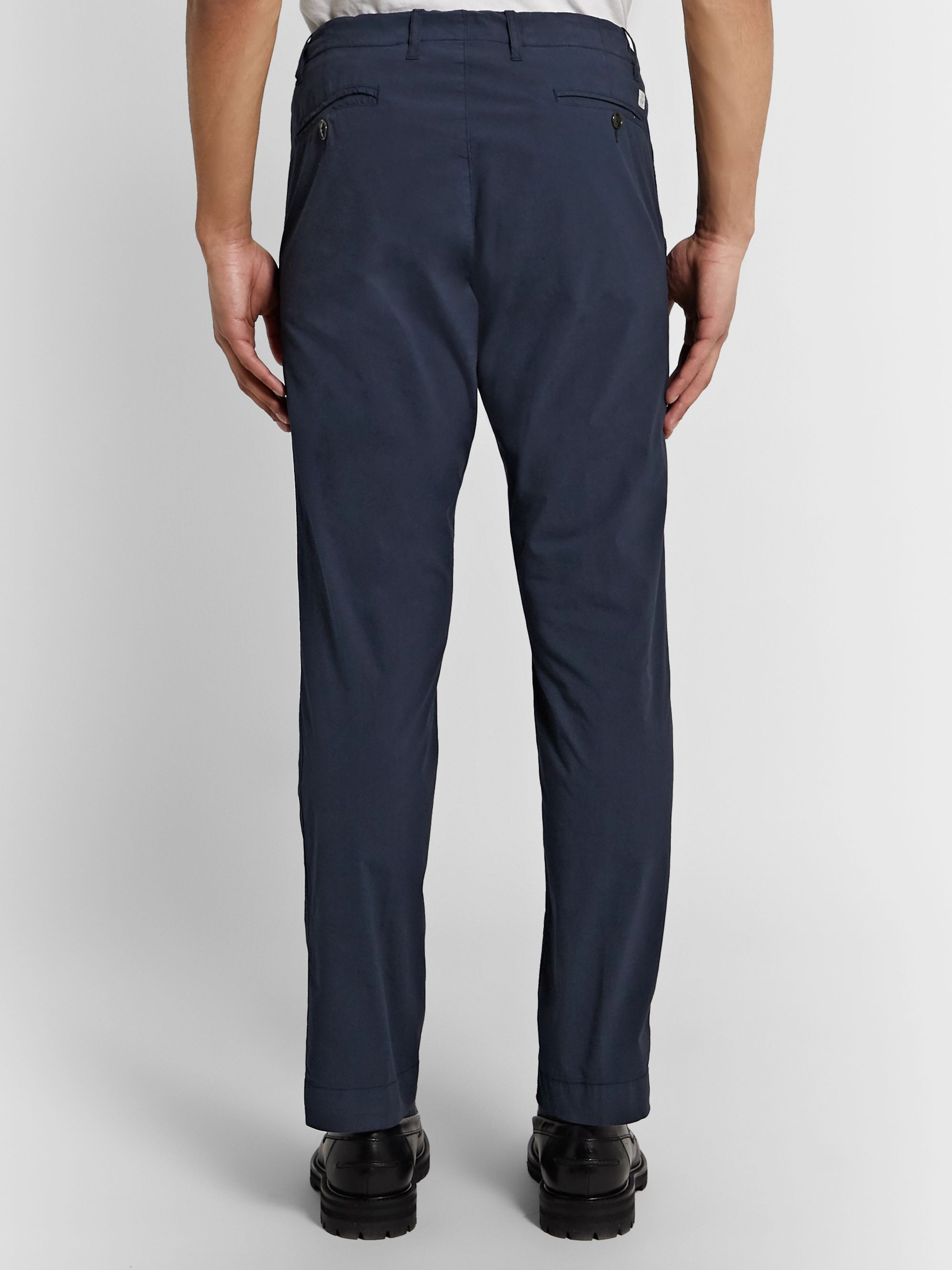 MAN 1924 Tomi Tapered Stretch-Cotton Drawstring Suit Trousers