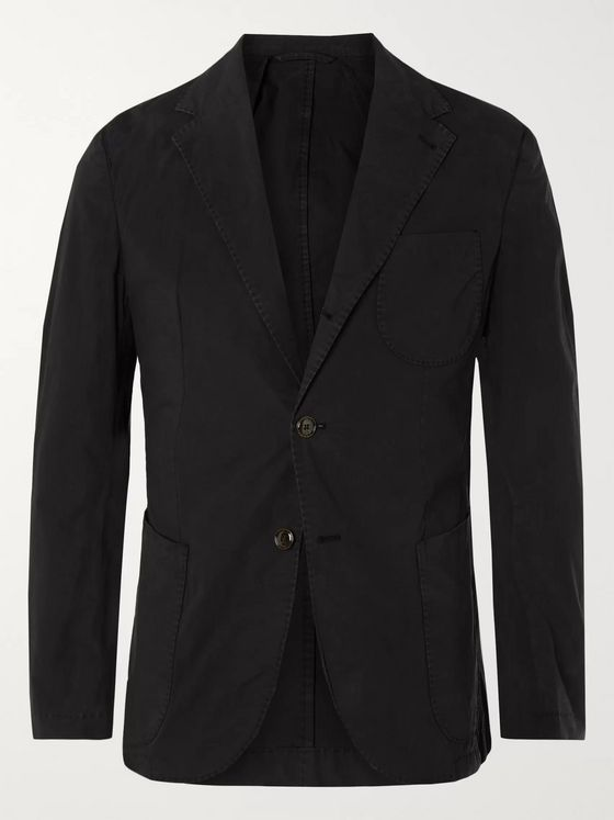 MAN 1924 Kennedy Unstructured Stretch-Cotton Suit Jacket