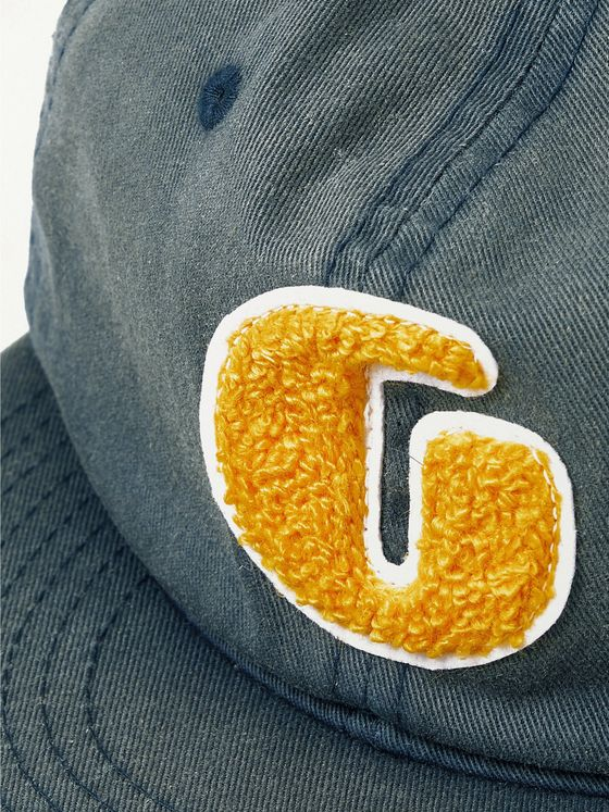 Gallery Dept. Appliquéd Cotton-Twill Baseball Cap
