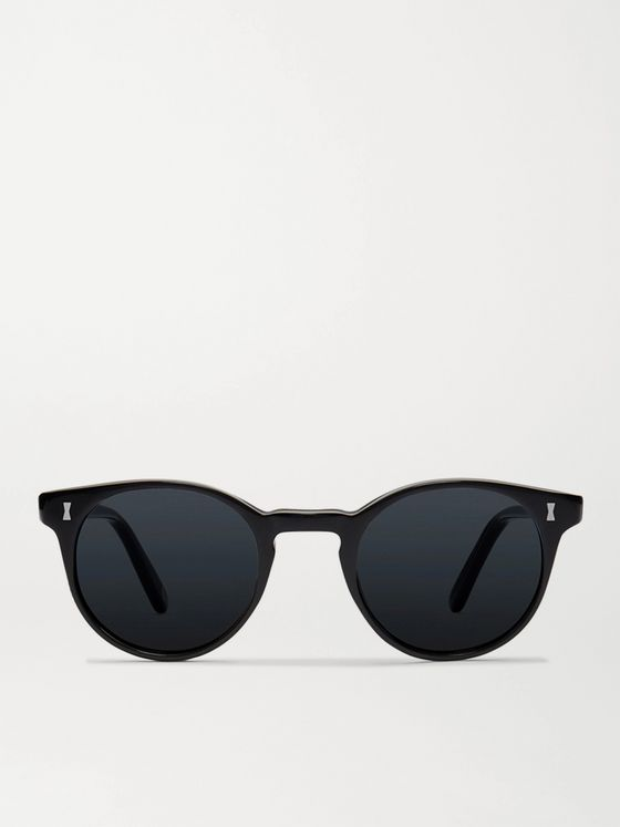 CUBITTS Herbrand Round-Frame Acetate Sunglasses