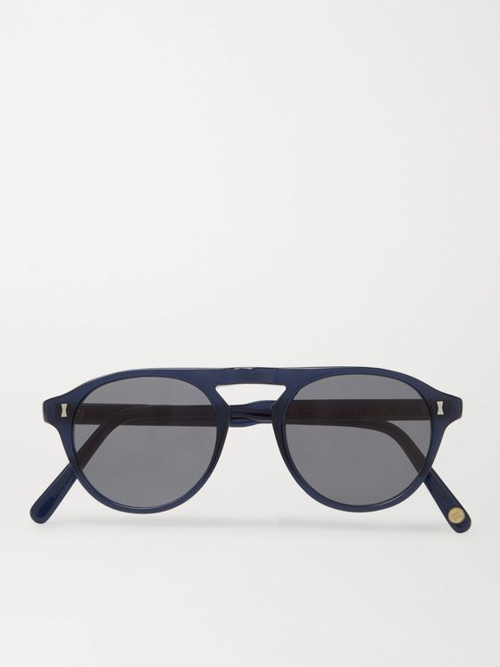Cubitts Tonbridge Aviator-Style Acetate Sunglasses